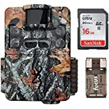 Browning Strike Force Pro XD 24mp Dual Lens Trail/Game Camera with 16GB SD Card and Focus USB Reader