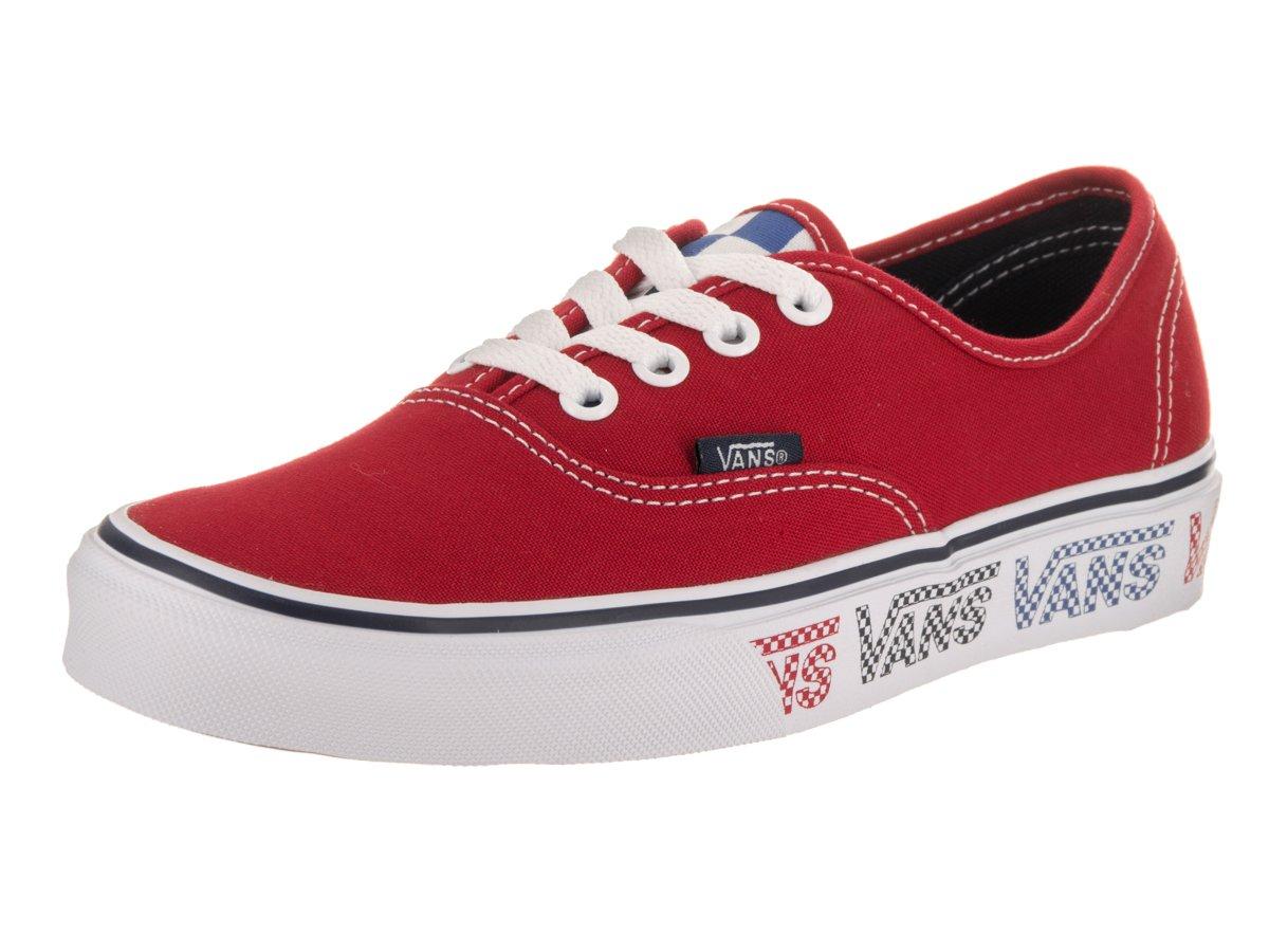 Vans Authentic B06WVKFHPZ 5.5 M US Women / 4 M US Men|Red/Dress Blues