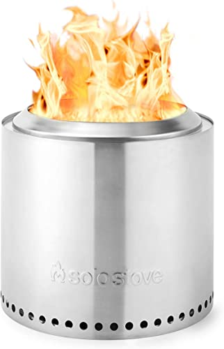 Solo Stove Ranger Outdoor Fire Pit Stainless Steel Portable Fire Pits for Wood Burning and Low Smoke great Fire Pit for S mores and Hot Dogs