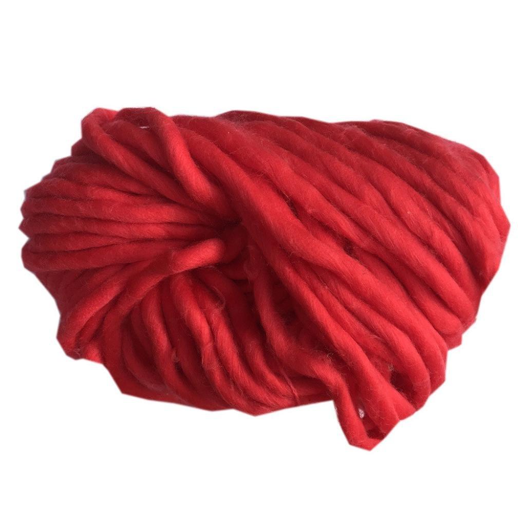 Tefamore Strickgarn Wolle Garn Super Soft Sperrige Armstricken Wolle ...