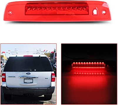 AmeriLite Smoke LED High Mount Stop 3rd Brake Lights for Ford Expedition