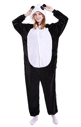 ec23ad29cf57 Amazon.com  Vanbuy Adult Panda Penguin Onesie Pajamas Animal ...