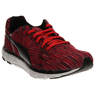 PUMA Men's Bravery Training Shoe, High Risk Red/Black/Black, ...