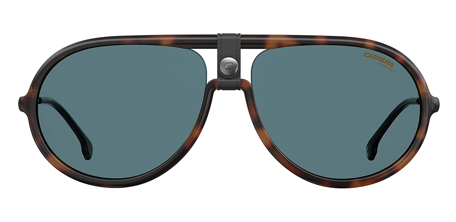 Carrera CARRERA 1020//S DARK HAVANA//BLUE 60//15//145 men Sunglasses