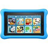 "Fire Kids Edition Tablet, 7"" Display, 16 GB, Blue Kid-Proof Case"