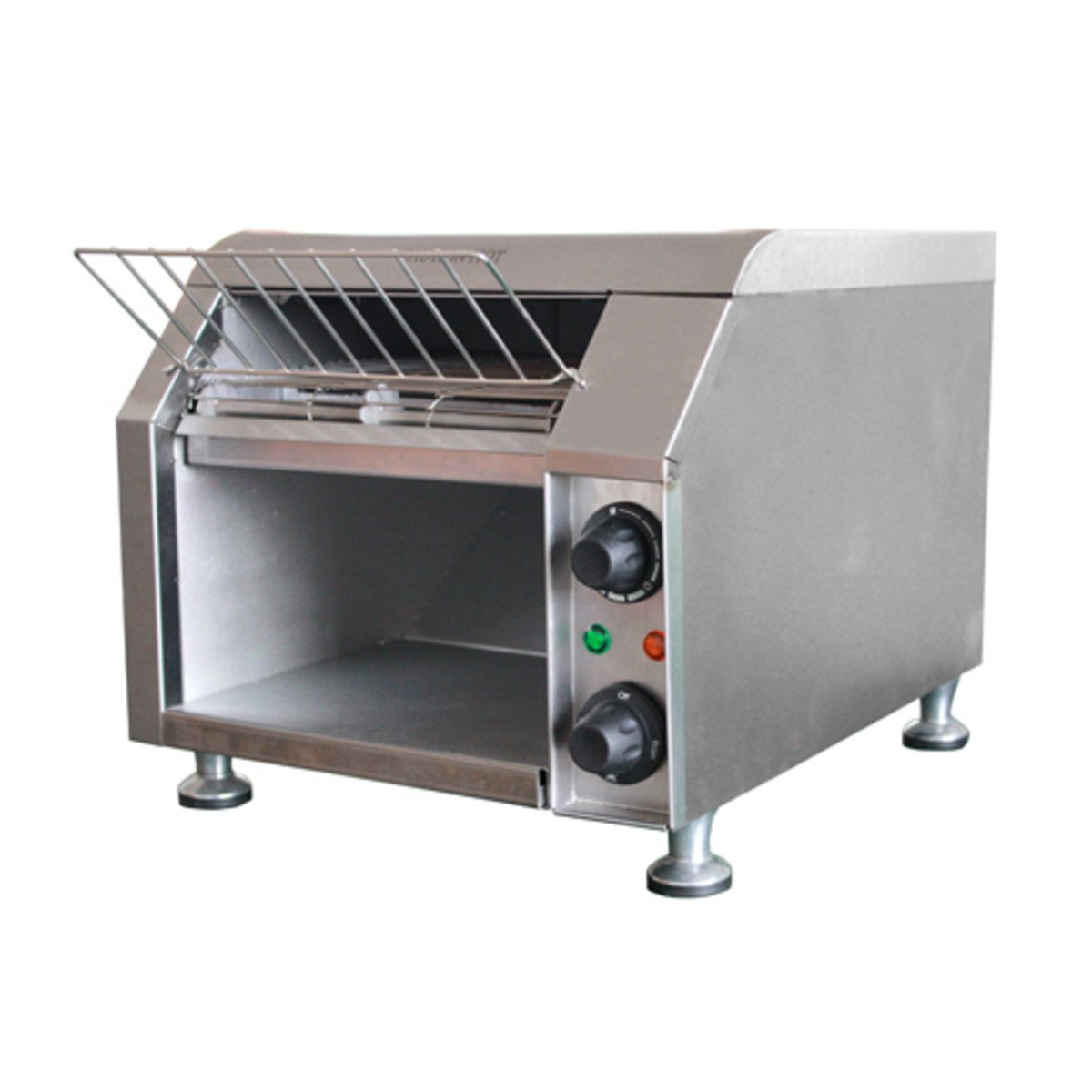 Adcraft Stainless Steel Conveyor Toaster, 13.5 x 14.5 x 19.5 inch -- 1 each.
