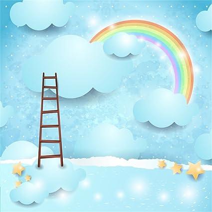 amazon com leowefowa 6x6ft cartoon backdrop sweet baby shower