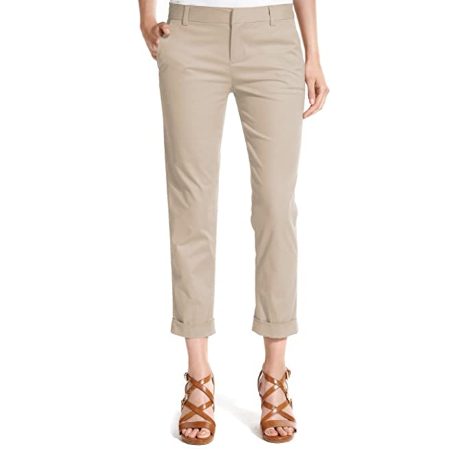 Tommy Hilfiger Womens Hampton Stretch Slim Chinos