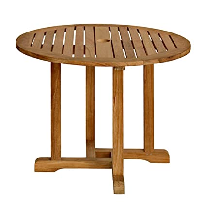 Amazoncom Three Birds Casual Oxford Round Dining Table Inch - 36 inch oval dining table