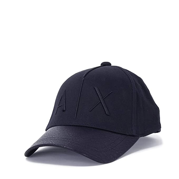 ARMANI EXCHANGE Cappello Visiera Uomo Baseball Logo 954047 8A318 Unica Blu   Amazon.it  Abbigliamento 6dc0b7110d21