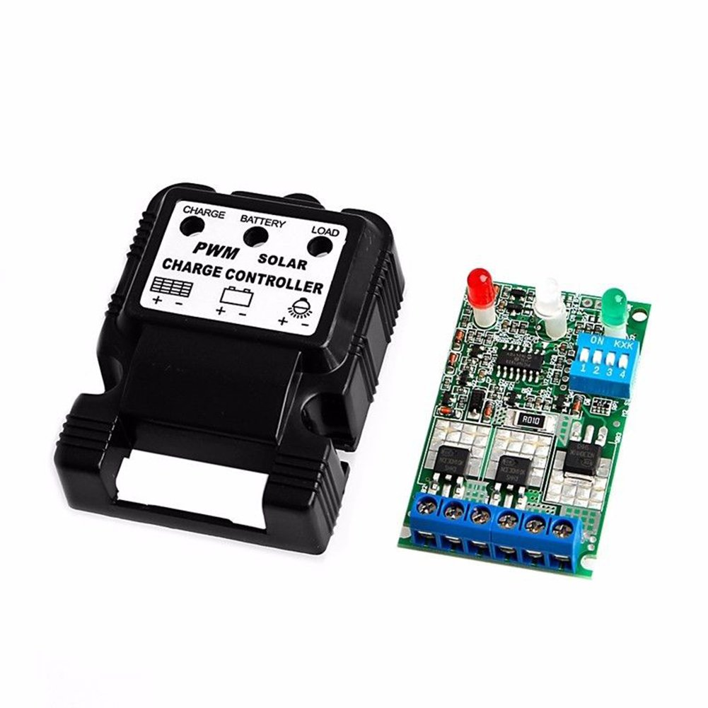 Auto Solar Panel Charge Controller Battery Charger Regulator 6v 12v Circuit 10a Pwm Pettstore En138a1