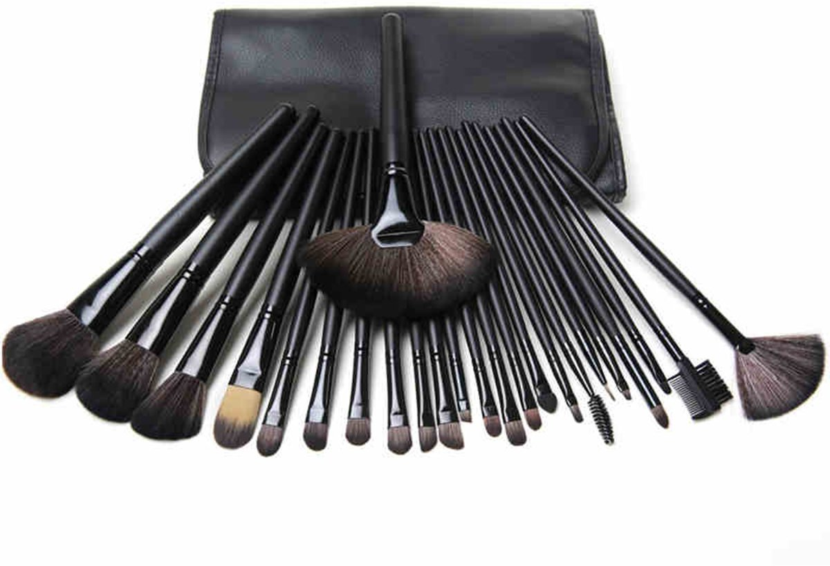 MAC Cosmetic Makeup Brush Set PACk Of 24 Pieces: Amazon.in: Beauty