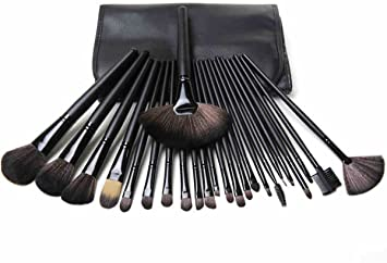 d28bbc7724b8 mac Cosmetic Makeup Brush Set - Pack of 24 Pieces  Amazon.in  Beauty