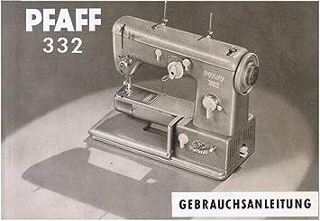 Unbekannt Download File Pfaff 332 Máquina de Coser Instrucciones ...