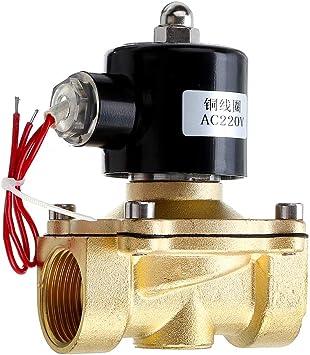 4Inch AC220V Wasser Luft Gas Normal Elektrisches Magnetventil 3