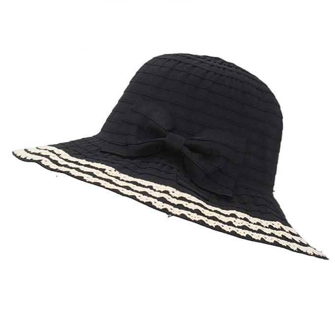 Sun Hats Fashion Big Brim Female Beach Summer Hats Girls Foldable Ladies  Panama Brimmed Straw Women e095059e590