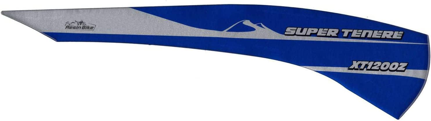 Adhesivo 3D Protecci/ón Basculante Compatible Yamaha Super Tenere V/íbora Blue