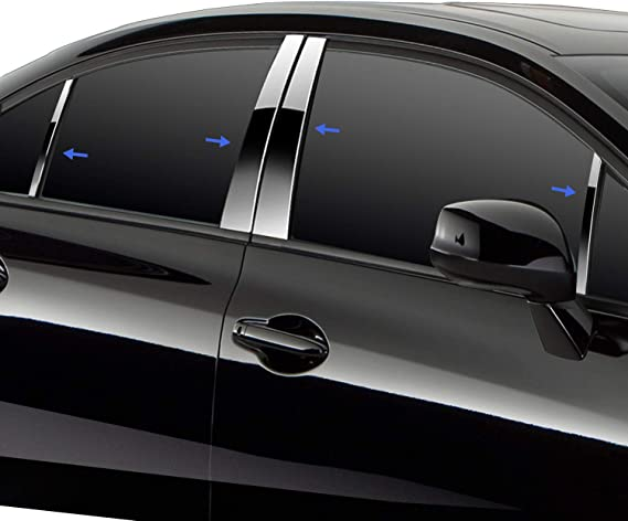 Front Windshield Cover Molding Trim for 2016-2018 Lexus RX350 RX450h Steel Strip