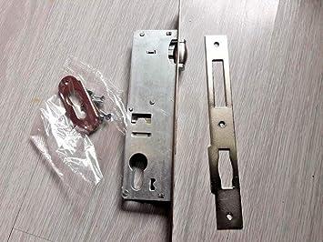 Kale 155/85 mm cerraduras de puerta para perfiles de aluminio/funda de bloqueo con cierre de rodillo: Amazon.es: Amazon.es