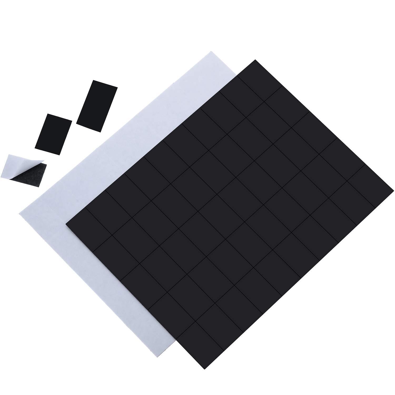 20 x 40 Mm 100 Pi/èces 100 Pi/èc 20 x 30 Mm Stickers Carr/és Magn/étiques Carr/és /à Aimants Flexible avec Adh/ésif pour Maison Bureau Entrep/ôt Tableaux Blancs Frigo Organisation d/'Artisanat Projet