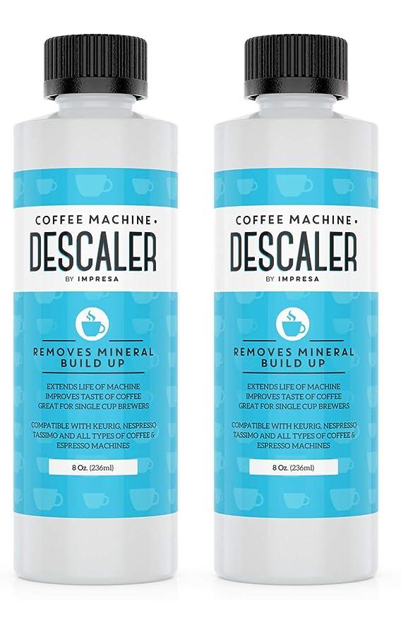 Descalcificador universal (2 unidades, 2 usos cada botella ...