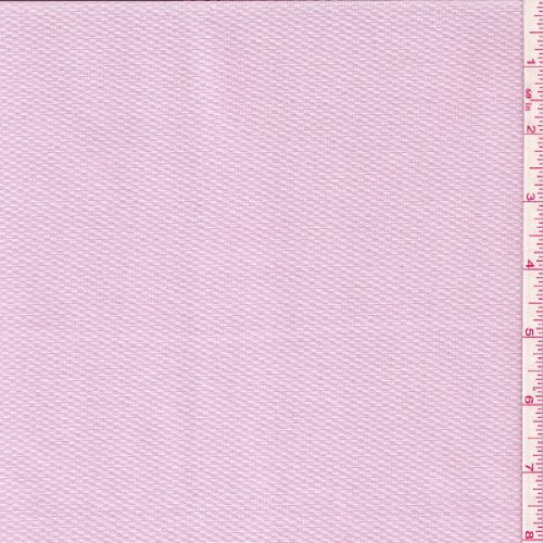 60'' Light Pink Cotton Pique Fabric-15 Yards Wholesale By The Bolt by Fabric Outlet