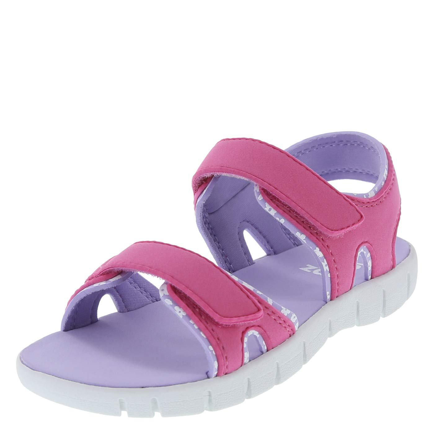 Zoe and Zac Girls' Parker Double Strap Sport Sandal 079490-Parent