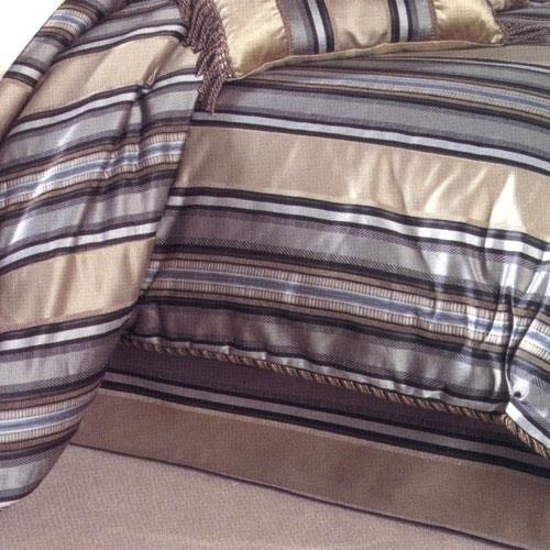 Croscill Huntington Stripe Bed - Bedskirt Croscill
