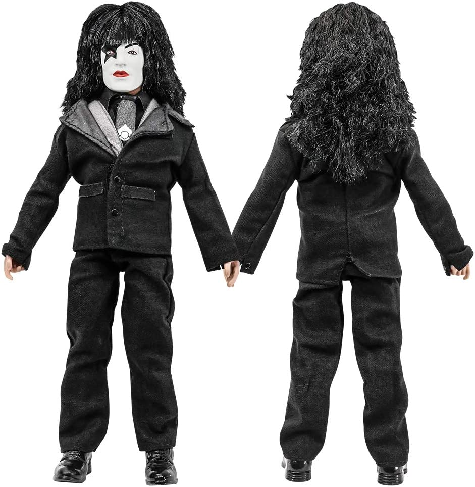 Set of all 4 KISS 8 Inch Action Figures Dressed To Kill Re-Issue Series