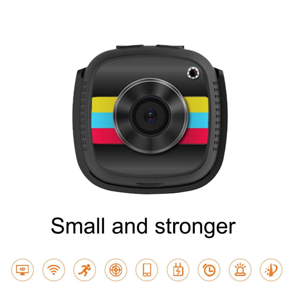 1080Pワイヤレスwifiミニカメラ屋内屋外ポータブル多機能小型セキュリティ乳母カメラの動き検出iphone/Androidの電話/Ipad/PC用,D B07DYLSWYM d d