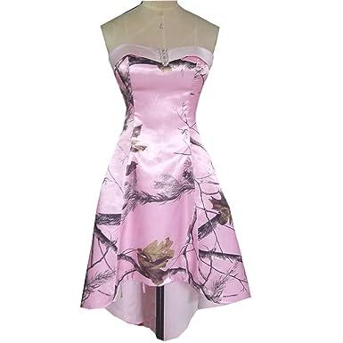 3be7e3d225 Amazon.com  VStextile Short Pink Camouflage Prom Dresses  Clothing
