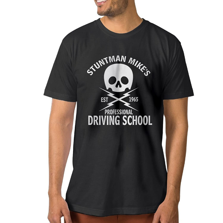 Anch Men's Fun Stuntman Mike's Driving School 2016 T-shirts