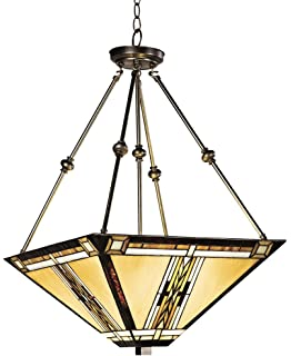 California mission style pendant chandelier lighting fixtures walnut mission style pendant chandelier aloadofball Image collections