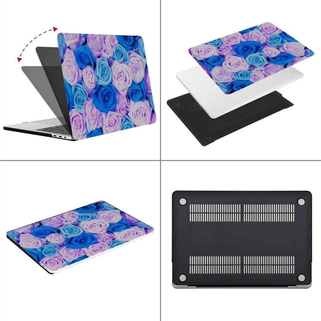 Screen Protector,Keyboard Cleaning Brush MacBook Air 13 Inch Case Detailed Photo Wedding Bouquet Made Colored MacBook Air11 Case MacBook Pro13 Pro15 Plastic Case Keyboard Cover