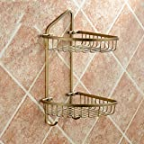 Rack shelf European Retro Bathroom Accessories Bathroom Racks Copper Bathroom Accessories