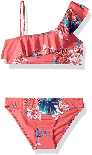 Amazon.com: Roxy - Bañador para mujer con diseño de flores ...