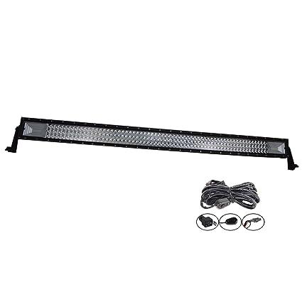 SKYWORLD Barra de luces de trabajo LED, 52 pulgadas 132.08 cm 675W ...