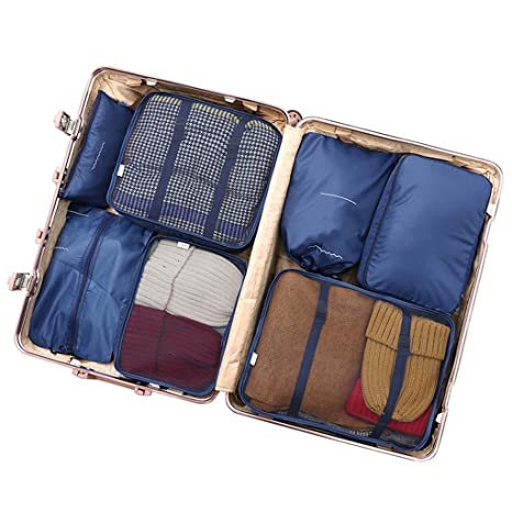 Amazon com: ZXC Packing Organizers Durable Comfortable Cubes