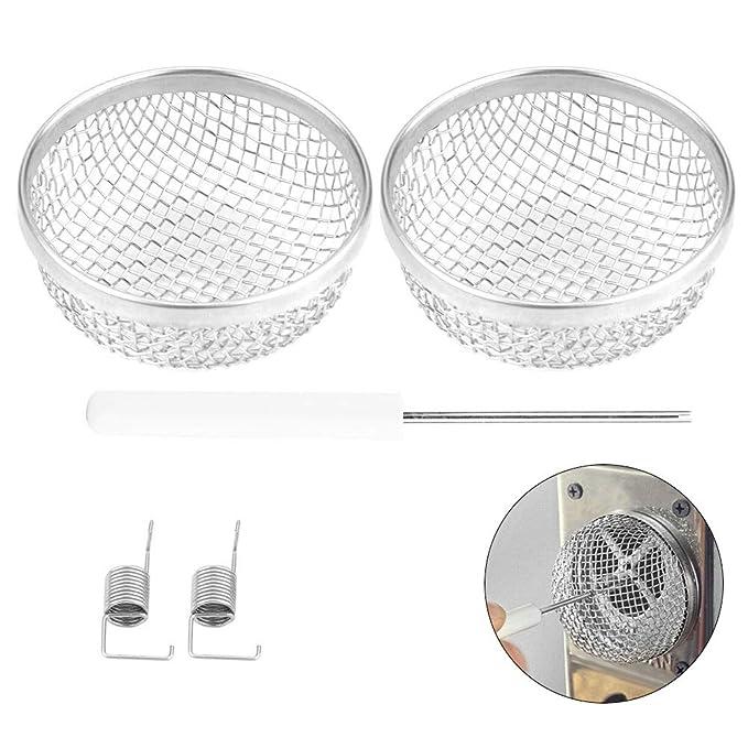 Amazon.com: GreceYou - 2 rejillas de ventilación de acero ...