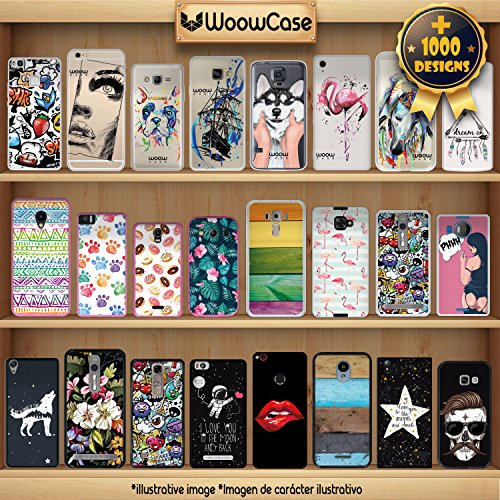 iPhone 8 Hülle, WoowCase Handyhülle Silikon für [ iPhone 8 ] Ethnische Eule Handytasche Handy Cover Case Schutzhülle Flexible TPU - Transparent