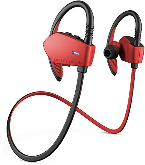 Energy Sistem Sport 1 - Auriculares Deportivos in-Ear (Sistema Secure-fit,