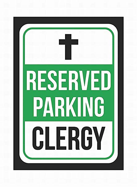 Taco Thursday Reserved Parking Clergy Pintura de Hierro ...