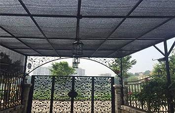 FSBYB El Acoplamiento del Sol Tela Visera Parasol 95% pérgola de Tela sombreado Anti-UV Cubierta de Malla Anti-UV,2mX2m: Amazon.es: Hogar