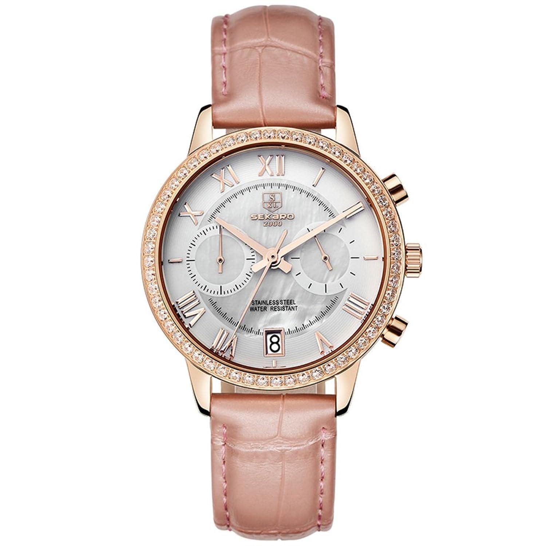 Automatische mechanische Uhr Lady-Hohlen Water resistant Zeitmesser- einfach und lÄssig Uhren-K
