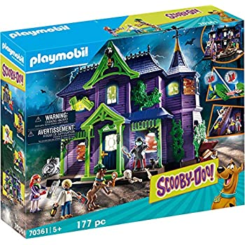 Playmobil Scooby-DOO! Journey in The Thriller Mansion Playset
