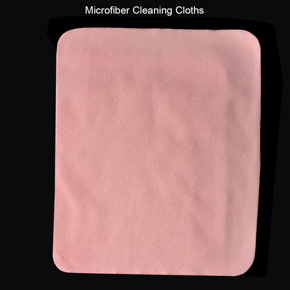 Glasses Lenses 4 Pack: Yellow, Green, Blue, Pink Contever Microfiber Cleaning Cloths for LCD Screens Camera