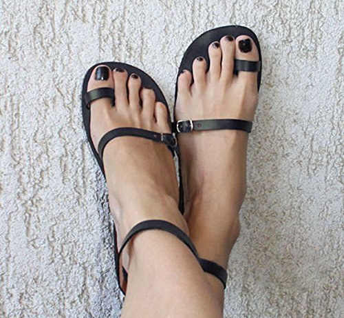 EXPEDITED SHIPPING Sandals Toe Ring Sandals Leather Sandals Boho Sandals Strappy Sandals Greek Sandals - Breeze (Leather Brown Sandals)