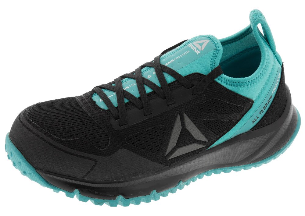 Reebok Work Women's All Terrain ST EH SR (8 B(M) US, Black/Turquoise)