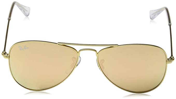 Amazon.com: Ray-Ban Junior RJ9506S - Gafas de sol de aviador ...