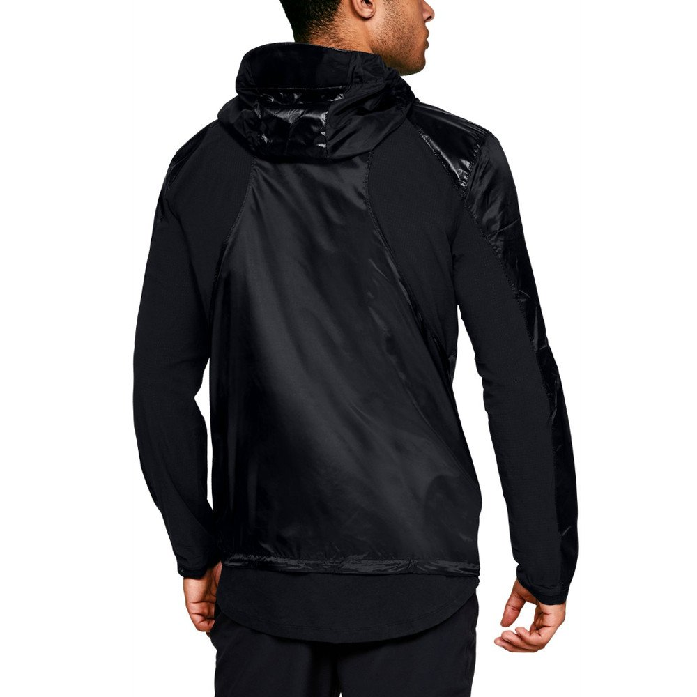 Under Armour Perpetual Full Zip Jacket - SS18 - Medium - Black by Under Armour (Image #3)